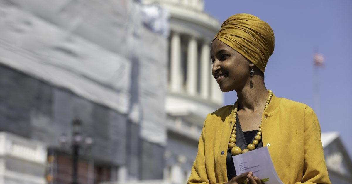 no  rep  ilhan omar was not filmed dancing on 9  11 anniversary