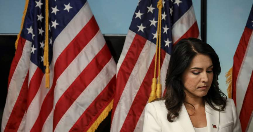 Did Tulsi Gabbard Not Vote on House Impeachment Measure Because She's a Senator?
