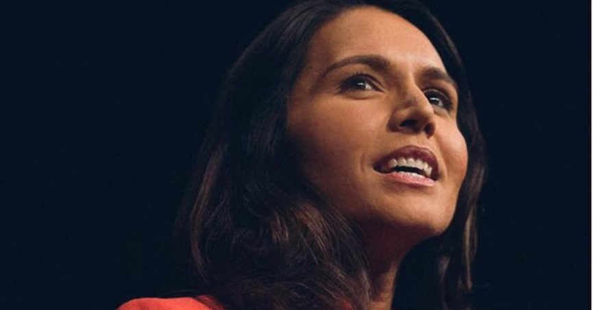 Gabbard, a 2020 Democratic presidential candidate, met with a number of veterans during the Standing Rock protests in 2016.
