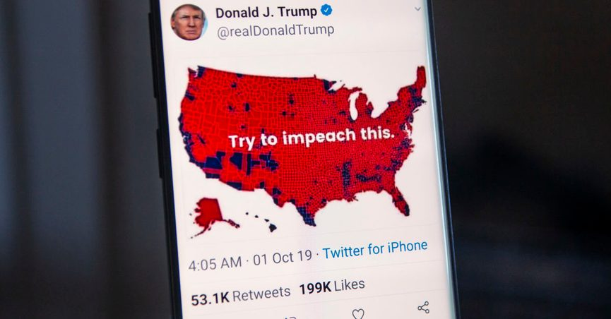 President Trump\'s \'Impeach This\' Map Explained
