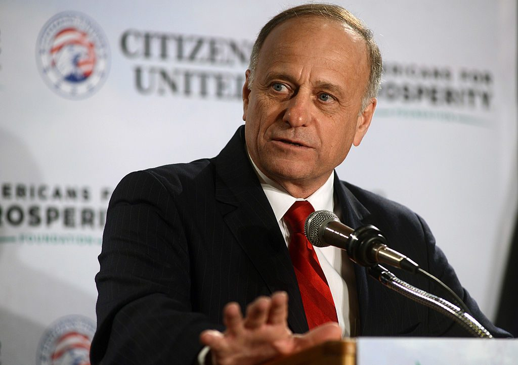 Did U.S. Rep. Steve King Falsely Identify the Ukraine Whistleblower?