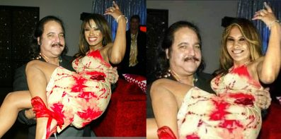 Is Photo of Melania Trump with Porn Star Ron Jeremy Real
