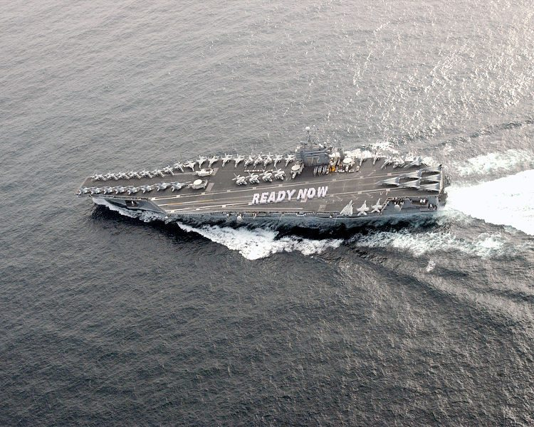 ready now navy ship aircraft carrier