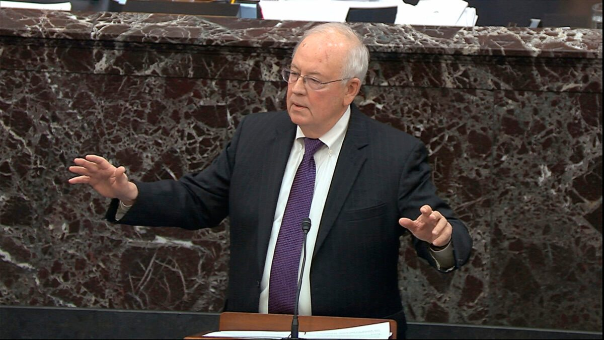 Trump Defense Counsel Ken Starr Says Impeachment Is 'Hell' - snopes