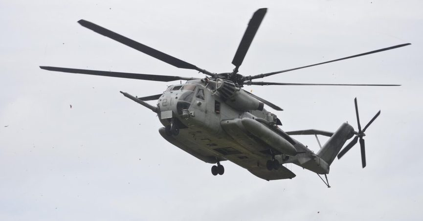 30 marines killed helicopter