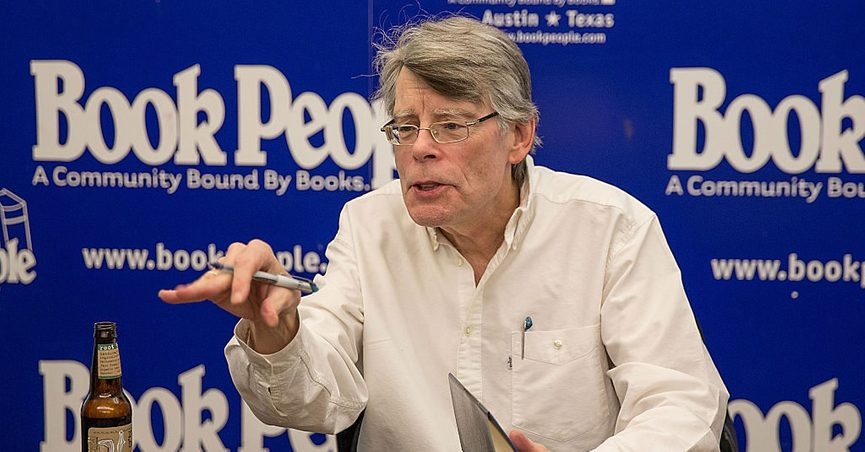 Billboards targeting the Republican senator were definitely seen near a property owned by Stephen King.