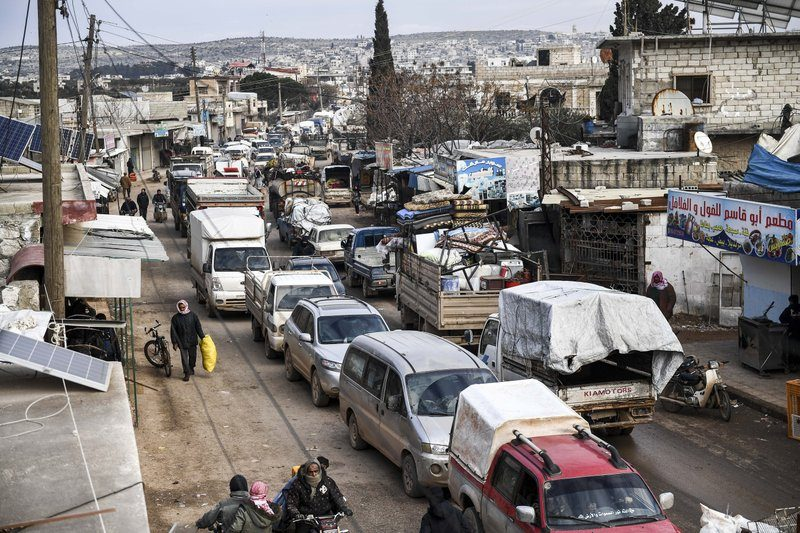 UN: Thousands Fleeing Syrian Offensive, Kids Dying in...