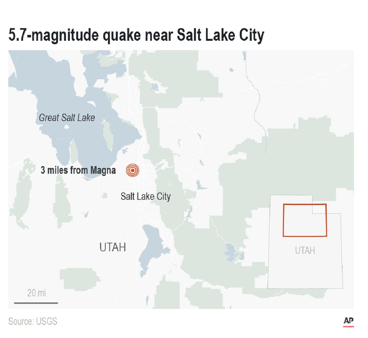 Salt Lake City Utah Houses: 5.7-Magnitude Quake In Utah Felt By Millions Of People
