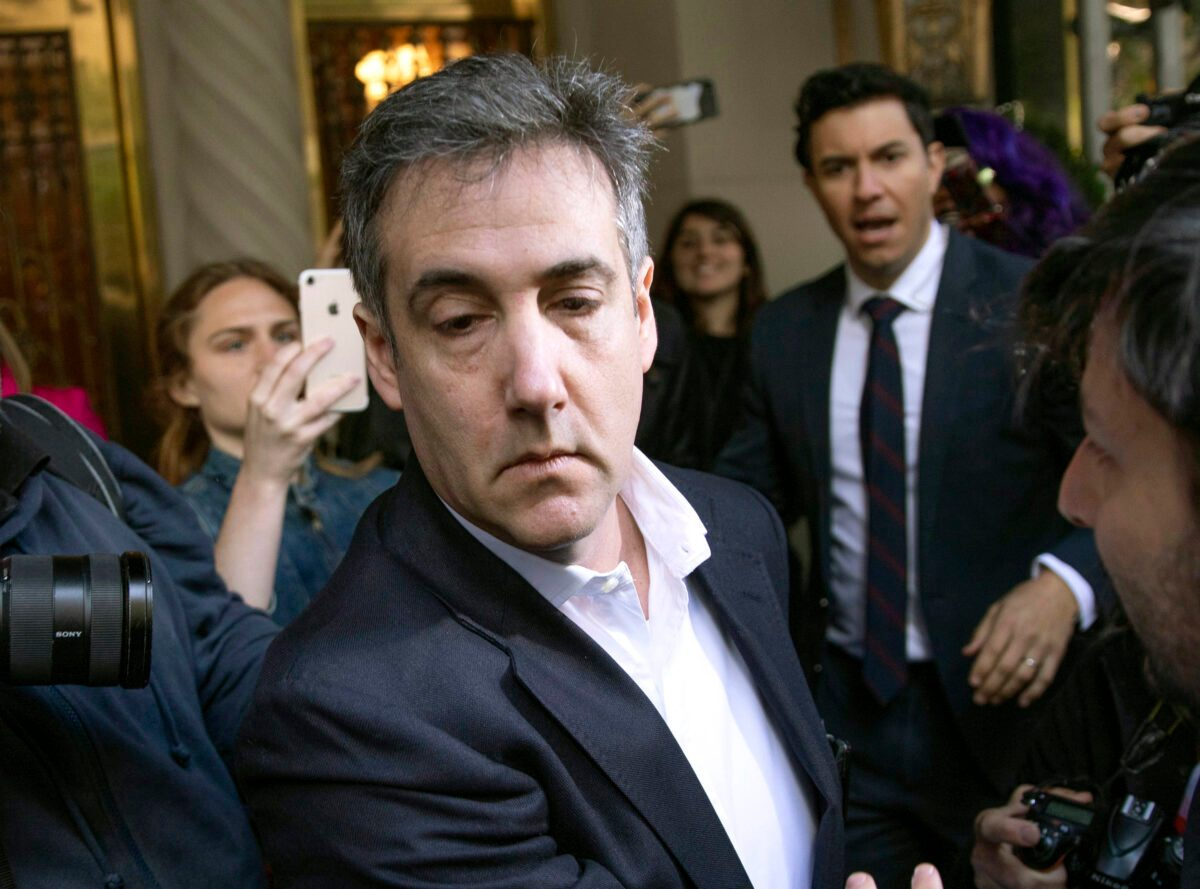 AP Source: Ex-Trump Prison expert Michael Cohen Being Released from Penal complex thumbnail