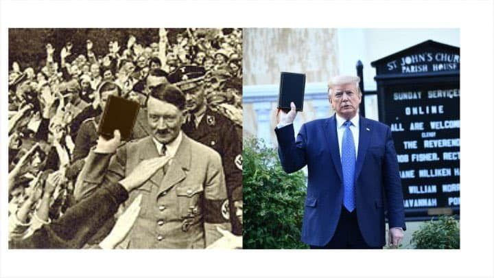 Does This Picture Show Hitler Holding a Bible?