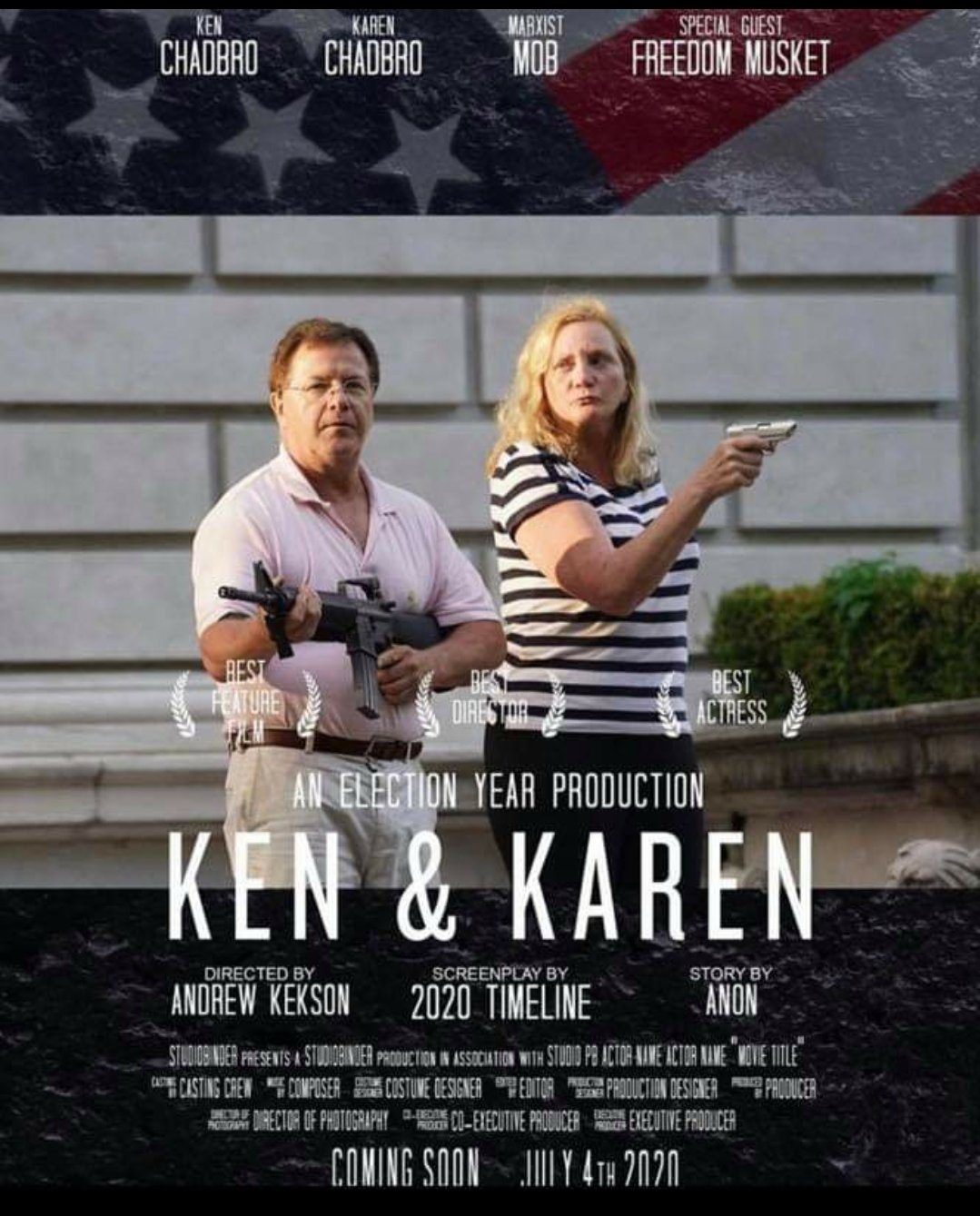 Did a Couple Dubbed 'Ken and Karen' Point Guns at Protesters?