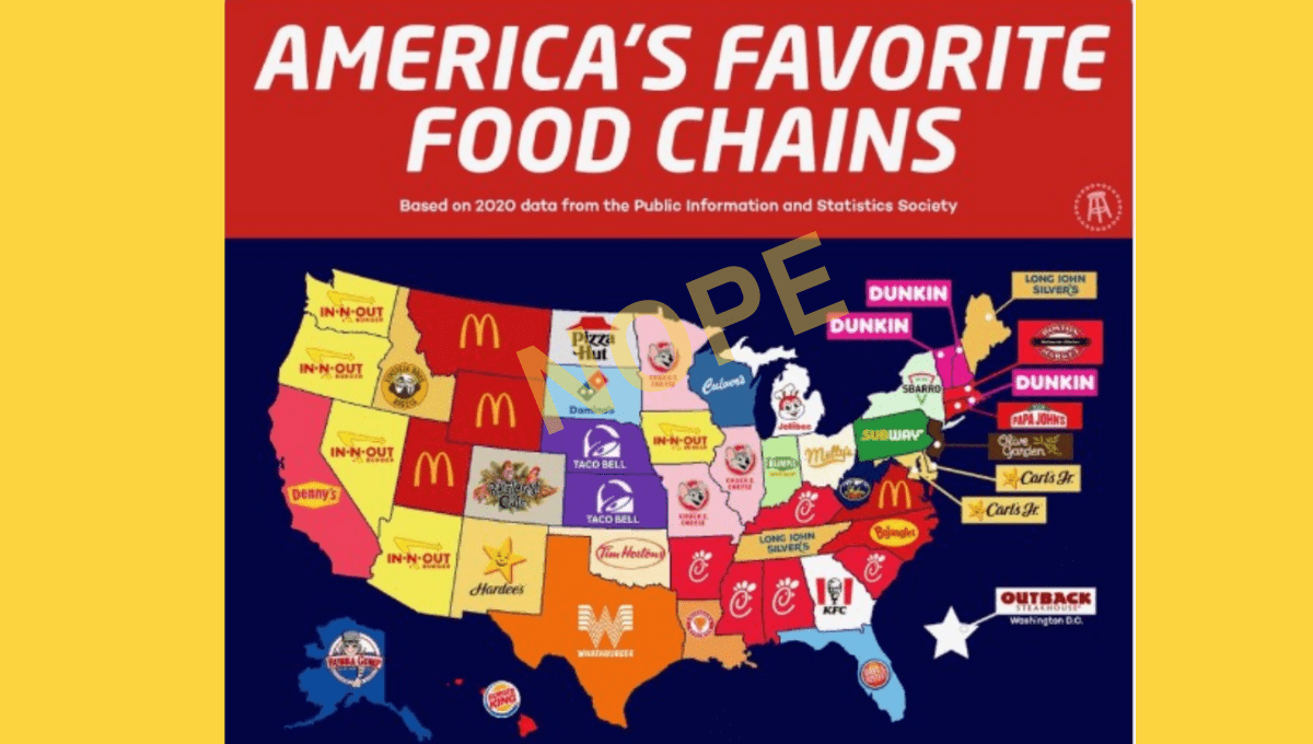 Are These America's Favorite Fast Food Restaurants? - snopes