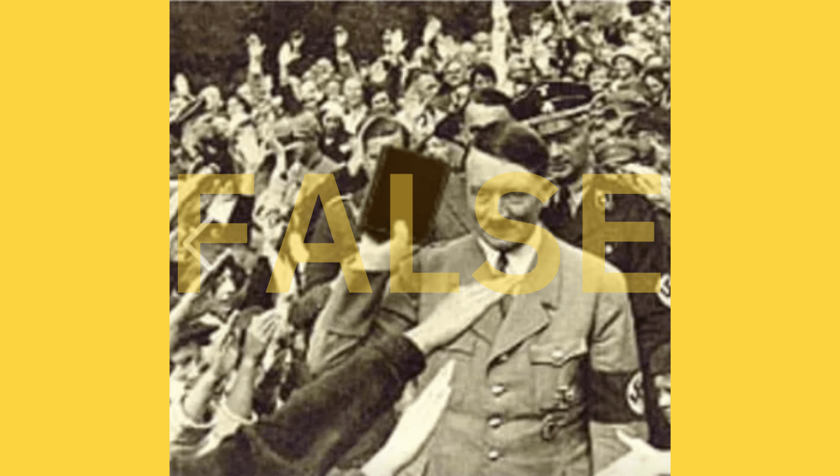 Does This Picture Show Hitler Holding a Bible? - snopes