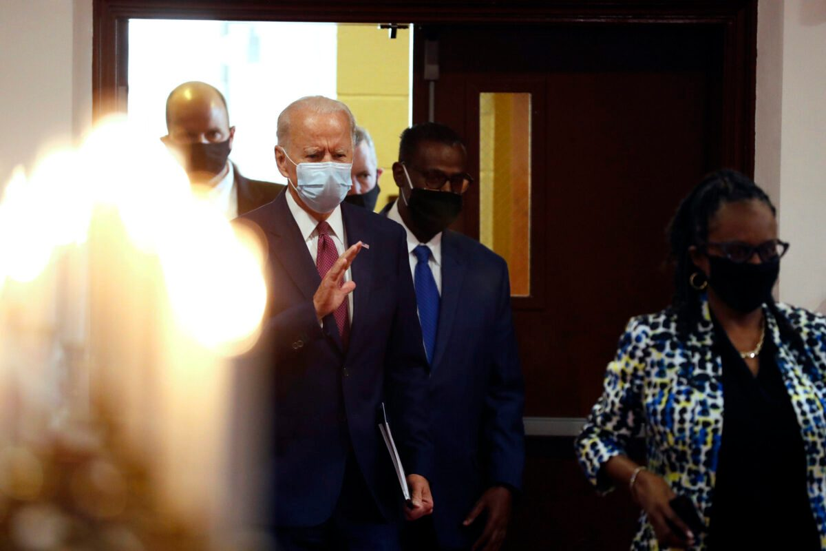 Biden Meets With Black Leaders at Delaware Church Amid Unrest - snopes