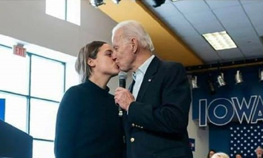 Does This Photo Show Biden Kissing a 15-Year-Old Girl?