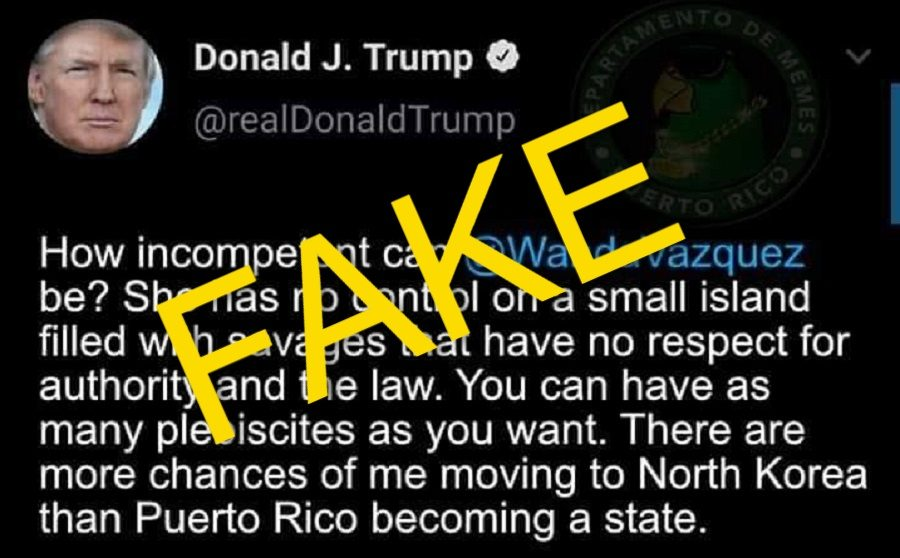 Did Trump Tweet This About Puerto Rico? - snopes