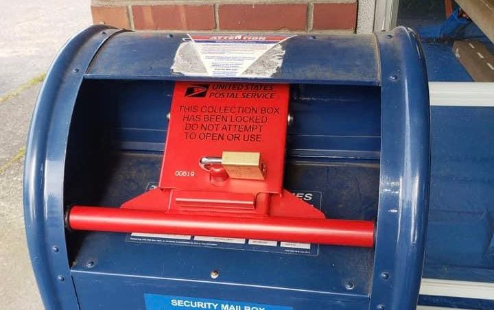 Is USPS Locking Mailboxes To Undermine 2020 Election?
