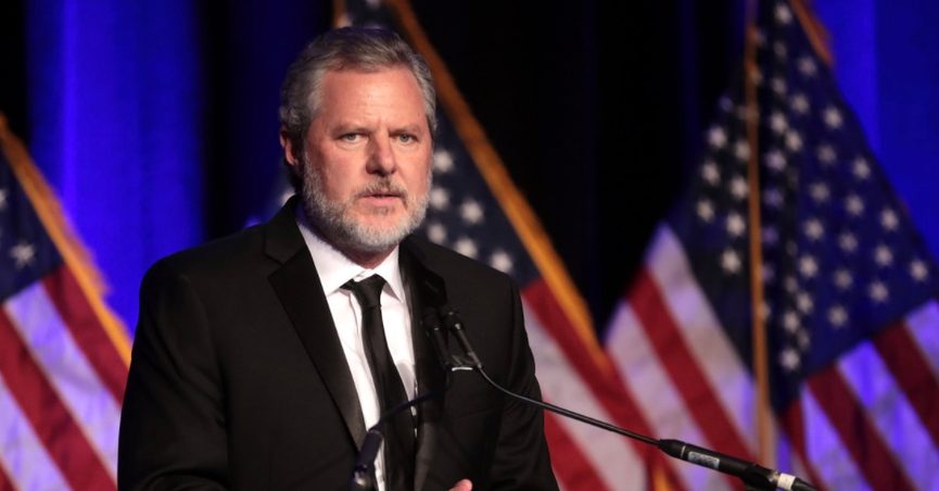 Falwell said the picture was intended to be a joke.