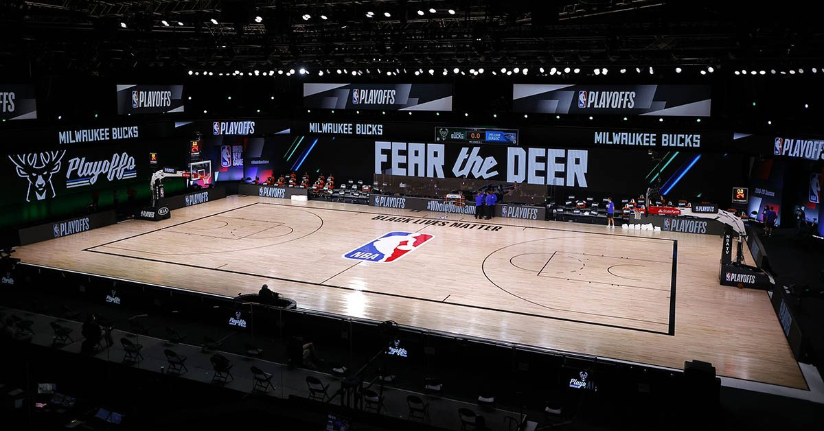 Don't Take Players Court Playoff Bucks Game NBA the for