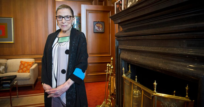 Supreme Court Justice Ruth Bader Ginsburg, a diminutive yet towering women's rights champion who became the court's second female justice, died at her home in Washington. She was 87.