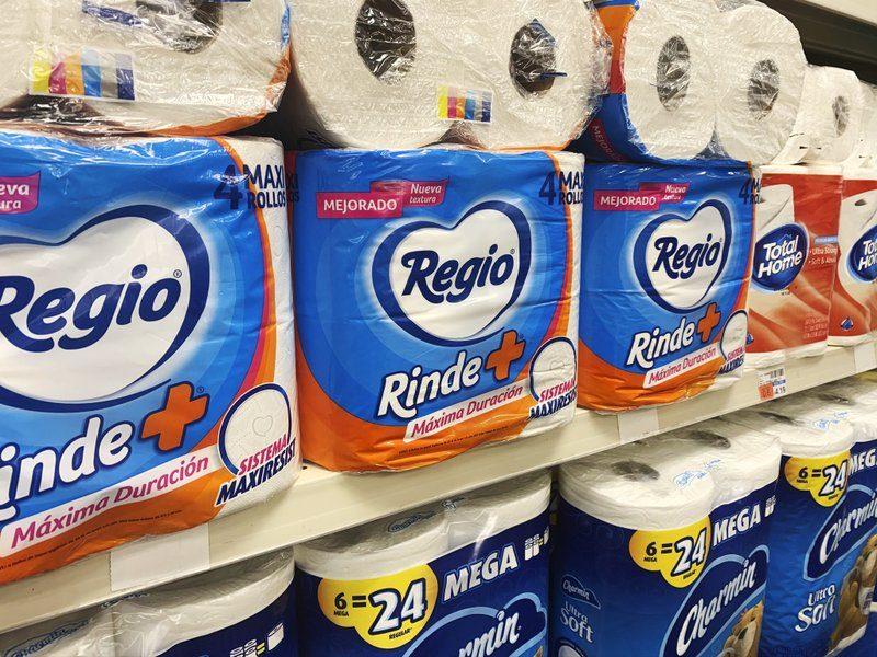Petalo, Not Charmin: Virus Brings Mexican Toilet Paper to US
