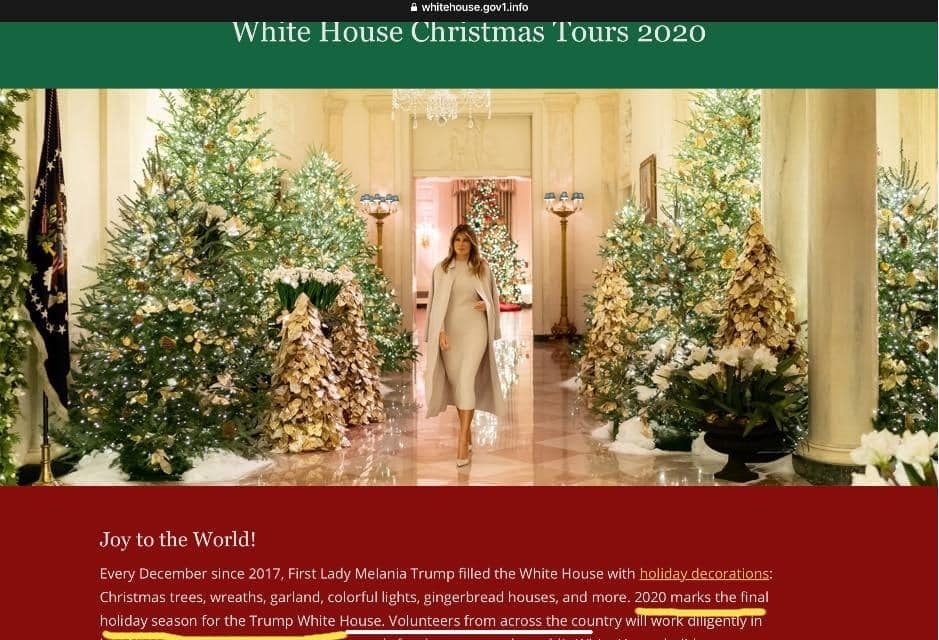 President Trump Christmas Speech 2020 Did Melania Trump Say 2020 Would Be Her Last Christmas in the