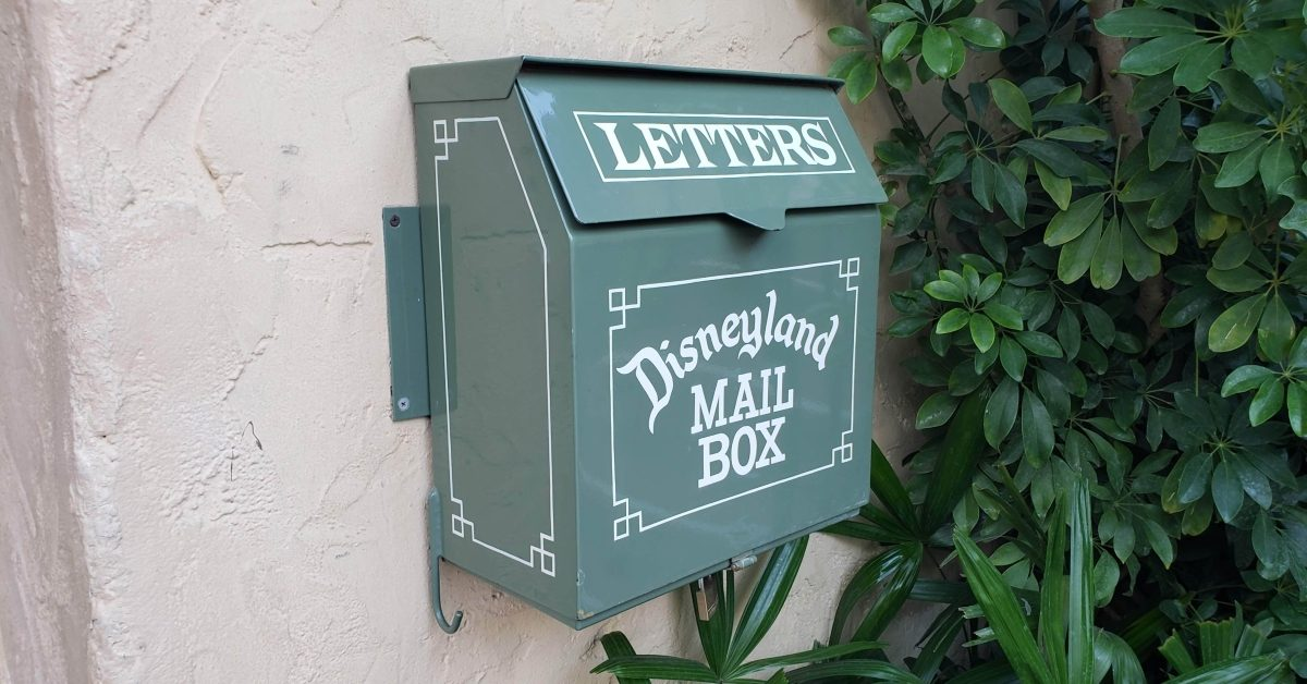 Are the Mailboxes Inside Disneyland Real? - snopes