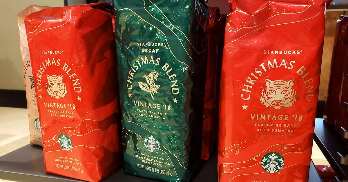 Has Starbucks Sold a 'Christmas Blend' Since 1984?