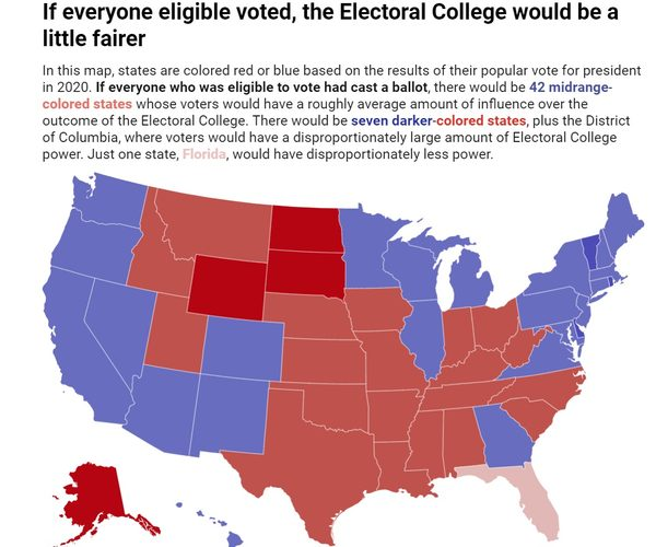 how many members of the electoral college