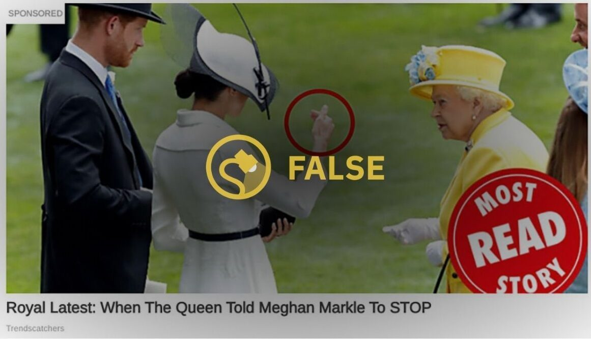 Royal Latest When The Queen Told Meghan Markle To STOP