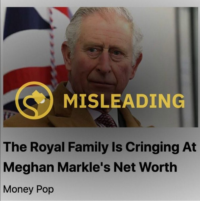 Megan Markle's net worth did not cause Queen Elizabeth II or the royal family to cringe.