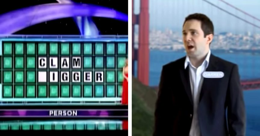 wheel of fortune clam digger