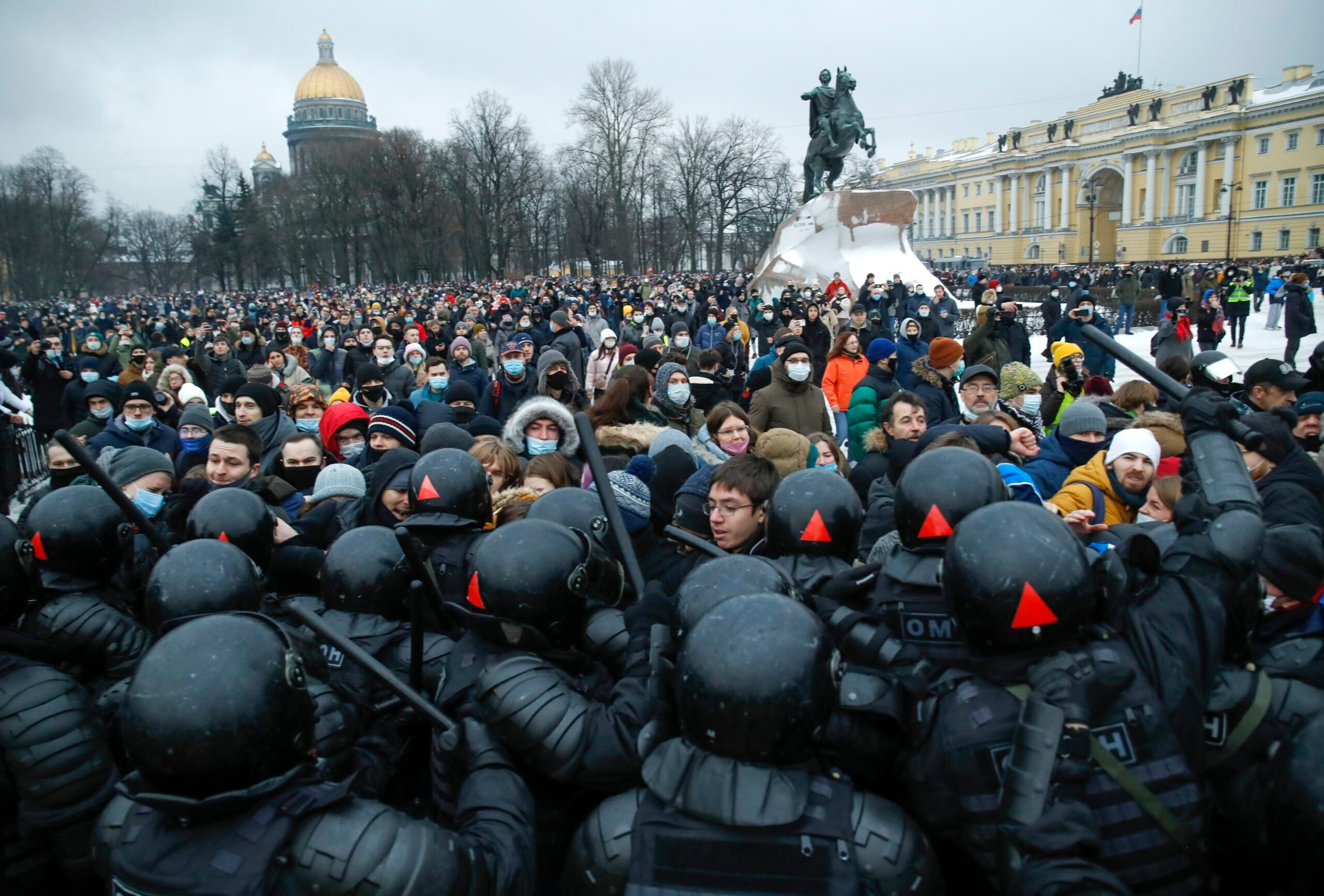 2,100 Arrested at Protests Demanding Navalny's Release - snopes