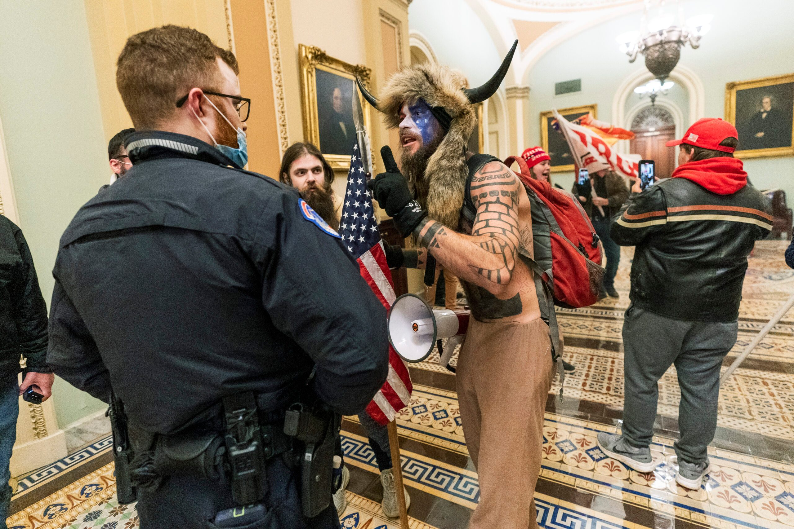 Man Accused of Stealing Pelosi's Lectern Charged in Invasion