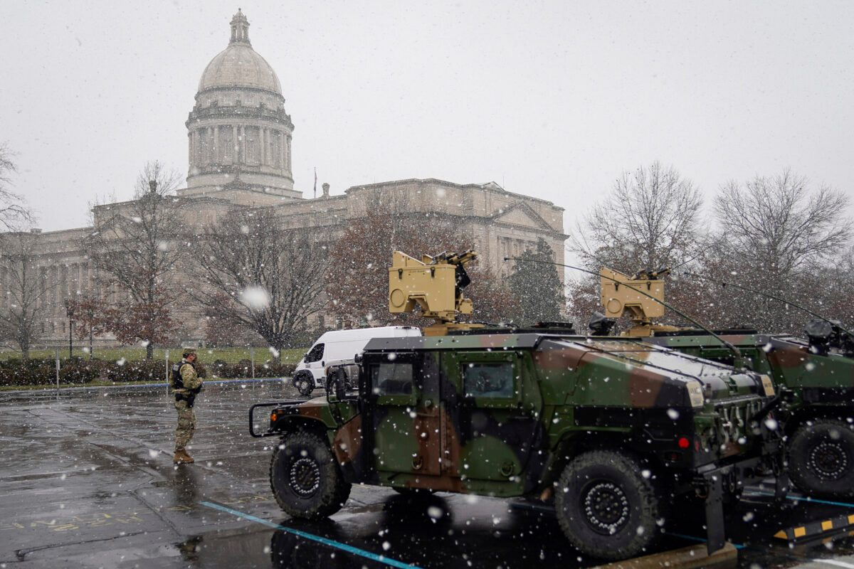 Statehouses, US Capital Brace for Potentially Violent Week - snopes