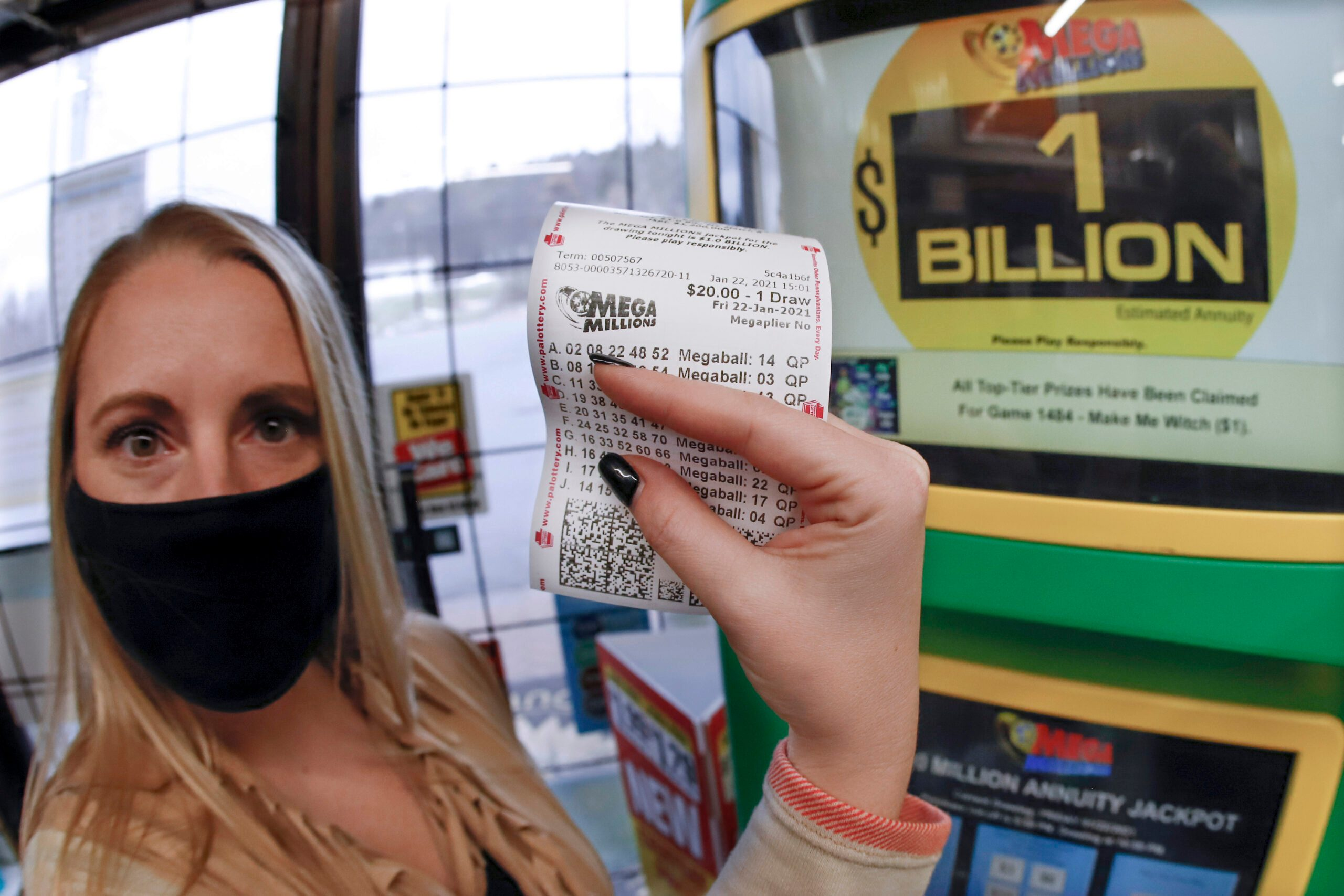 Michigan Mega Millions Ticket Wins $1 Billion Jackpot - snopes