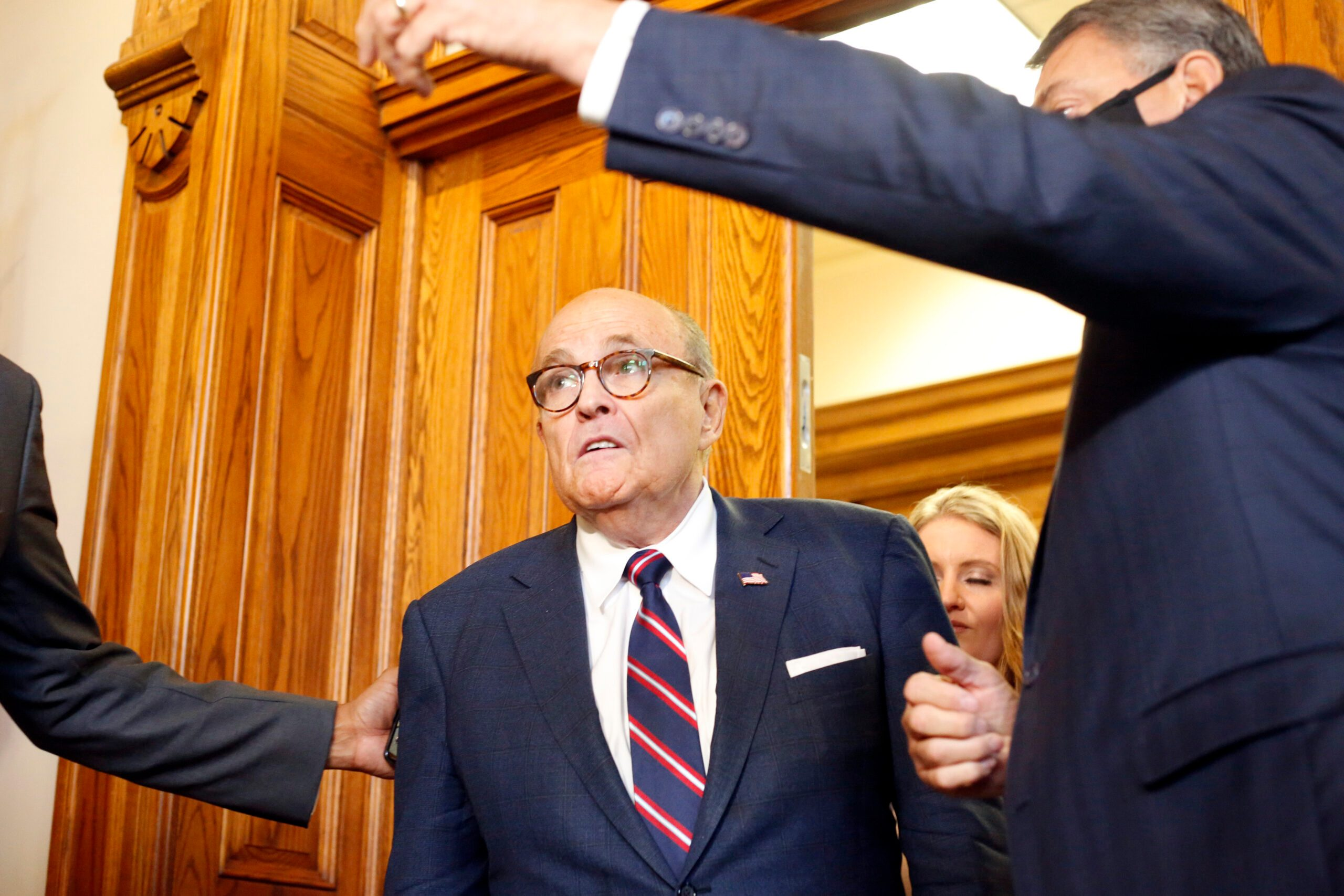 Dominion Voting Systems Sues Giuliani over Election Claims - snopes
