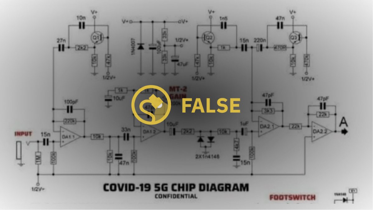 Is This a 'COVID 5G Chip Diagram'?