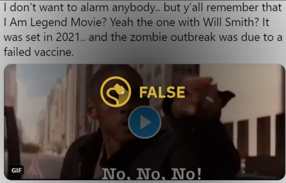 Was 'I Am Legend' Set in 2021? - Fact Check from Snopes.com