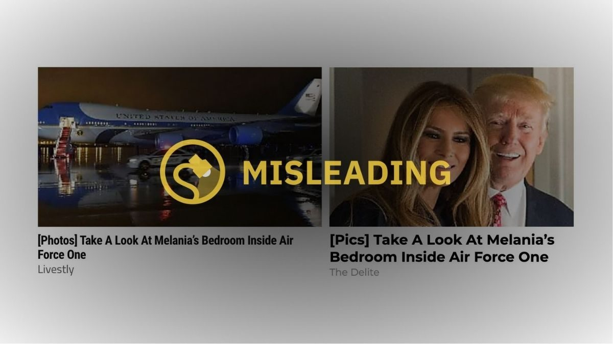 Did Melania Trump Have A Private Bedroom On Air Force One Snopes Com