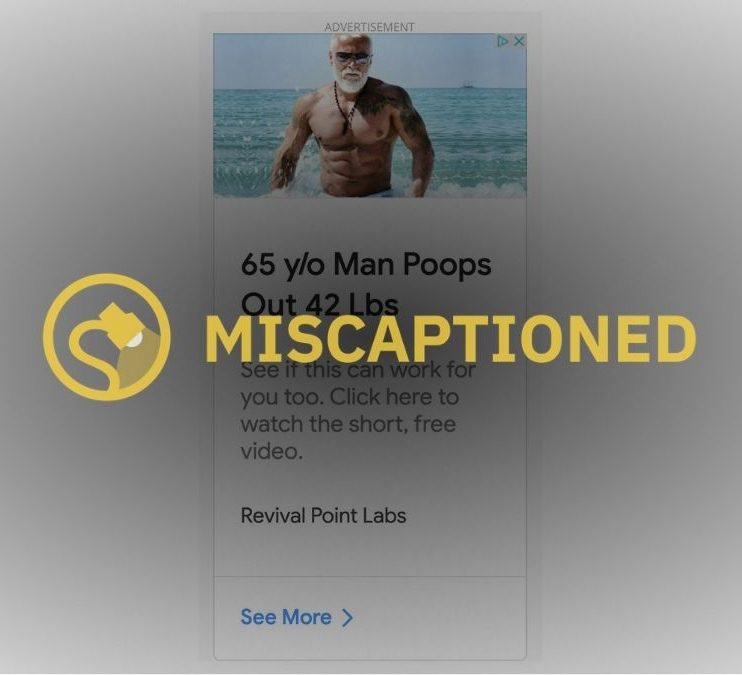 floraspring pooping habit 65 year old y/o yo man poops out 42 pounds revival point llc labs Dr. steven masley MD
