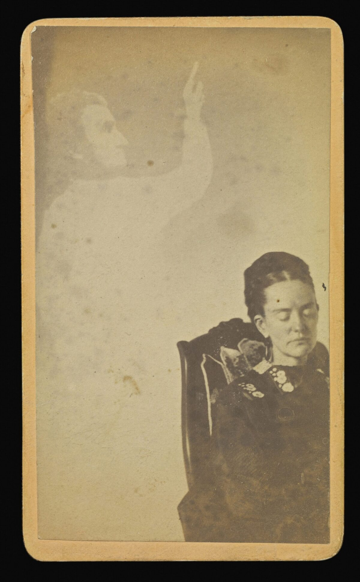william mumler mary todd lincoln abraham ghost photographer spirit last words photography apparition