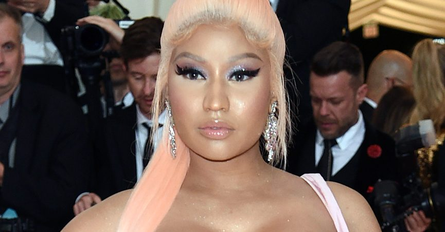 FILE - Nicki Minaj attends The Metropolitan Museum of Art's Costume Institute benefit gala in New York, in this Monday, May 6, 2019, file photo. The 64-year-old father of rapper Nicki Minaj has died after being struck by a hit-and-run driver in New York, police said. Robert Maraj was walking along a road in Mineola on Long Island at 6:15 p.m. Friday when he was hit by a car that kept going, Nassau County police said. Maraj was taken to a hospital, where he was pronounced dead Saturday, Feb. 13, 2021. (Photo by Evan Agostini/Invision/AP, File)
