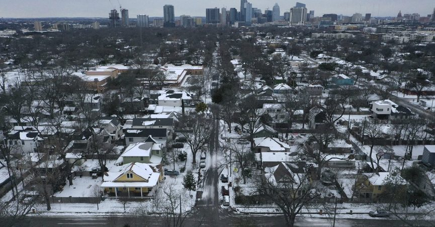 Texas cold snap in Austin