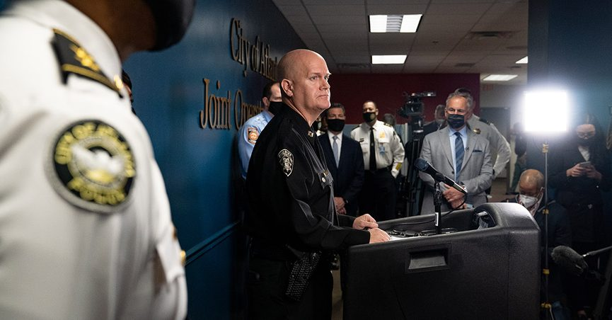 """""""Bad day"""" were words said about the Atlanta shooting suspect by Capt. Jay Baker."""