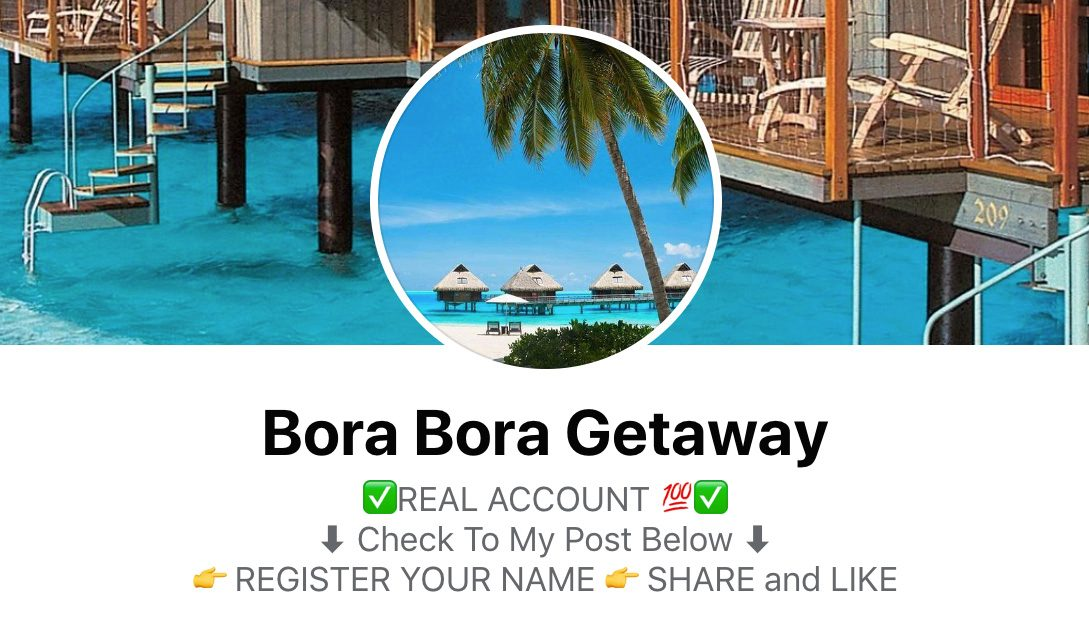 bora bora getaways getaway scam 14 nights Le Meridien like share comment