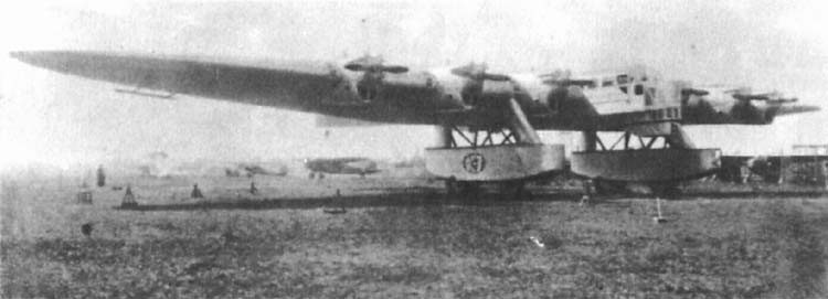 The Kalinin K-7 was real, but computer renderings were not.