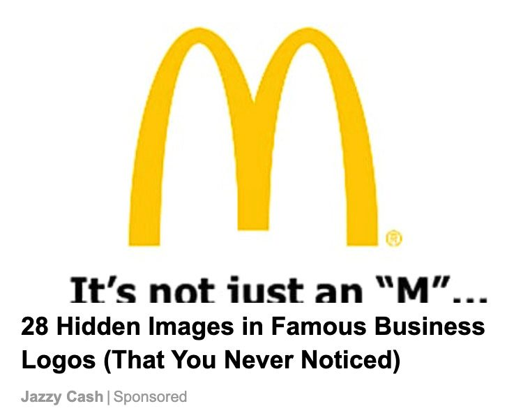 Did the McDonald's golden arches look like a pair of breasts? That's what a psychologist purportedly found.