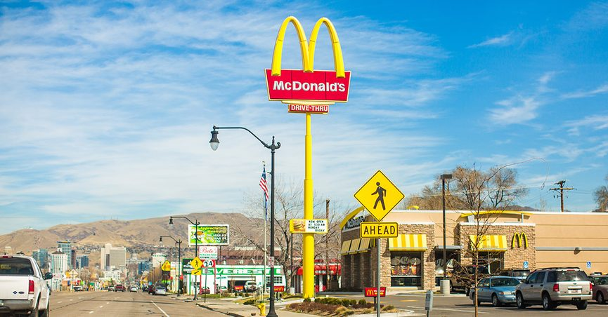 Do the McDonald's golden arches look like breasts? That's what a psychologist purportedly found in market research.