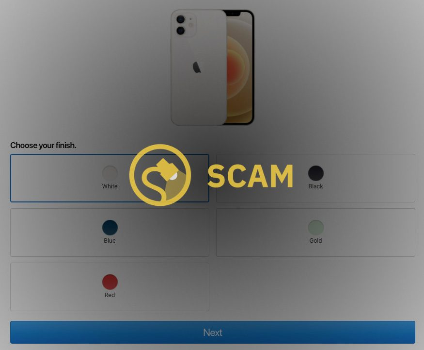 iphone 12 tiktok scam randomly selected lucky day click the link in the bio to enter